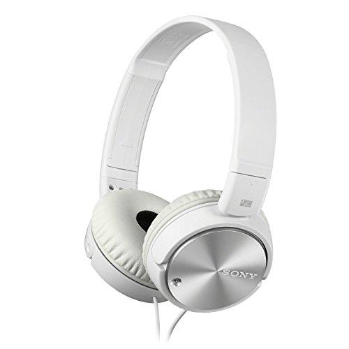 Sony Kopfhörer  MDR-ZX110NA faltbarer Bügelkopfhörer mit Digital Noise Canceling, weiß