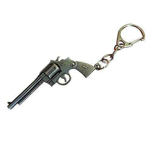 Weapon Gun Keychains 3D Metal Pistol