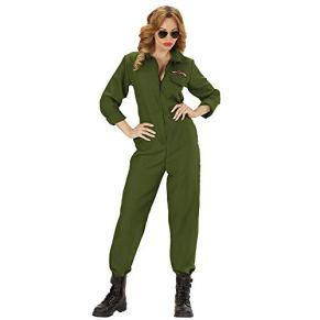 WIDMANN Disfraz de piloto de Aviones para Mujer