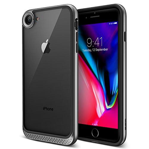 ESR Cover iPhone 8, Cover iPhone 7 [Antiurto,Anti Scivolo,AntiGraffio], Custodia Ultra Sottile con Cornice di Praurti, Posteriore Puro Chiaro per Apple iPhone 8 / iPhone 7 da 4.7 Pollici.