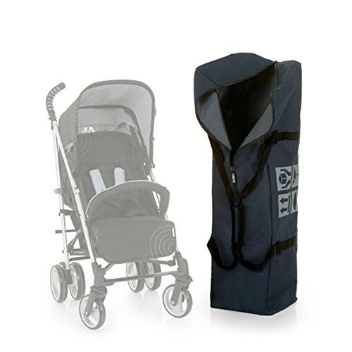 Hauck Bag Me Porta Passeggino Universale Sacca Portapasseggino Resistente, per Aereo, Viaggio, Auto, Outdoor, Con Maniglia di Trasporto, 115 x 31 x 31 cm, Grigio Scuro
