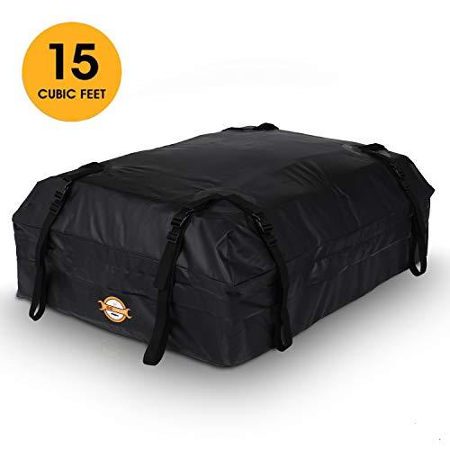 Sailnovo Box Da Tetto Universale, 585 Litri Portapacchi Auto Di 20,7 Piedi Cubi, Facile Da...
