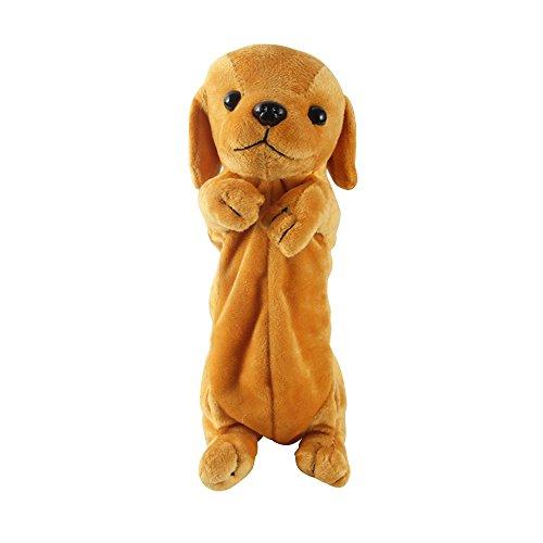 CTGVH - Grande custodia multiuso a forma di cane Golden Retriever in peluche per articoli di...