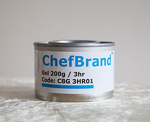 DISPOSABLE CHAFING DISH FUEL GEL CAN 3H BURN FOOD PANS CATERING PARTIES EVENTS