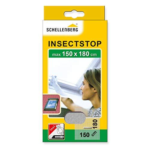 Schellenberg 50328 Fliegengitter mit Reißverschluss   perfekter Insektenschutz für Dachfenster  ...