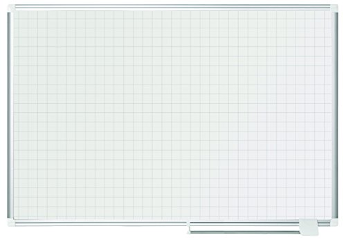 Bi-Office New Generation - Lavagna Magnetica Planning, 120 x 90 cm, Superficie Magnetica Acciaio...