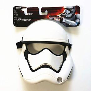 BBJOZ Máscara De Halloween Star Wars Darth Vader Despertar Fuerza Máscara De Soldados Blancos Máscaras De Halloween For Cosplay Fiesta De Cumpleaños (Color : A)
