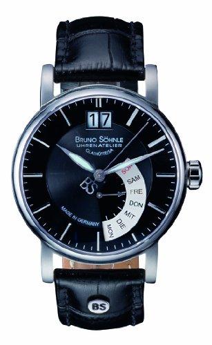 Bruno Söhnle Herren-Armbanduhr Analog Quarz Leder 17-13073-741