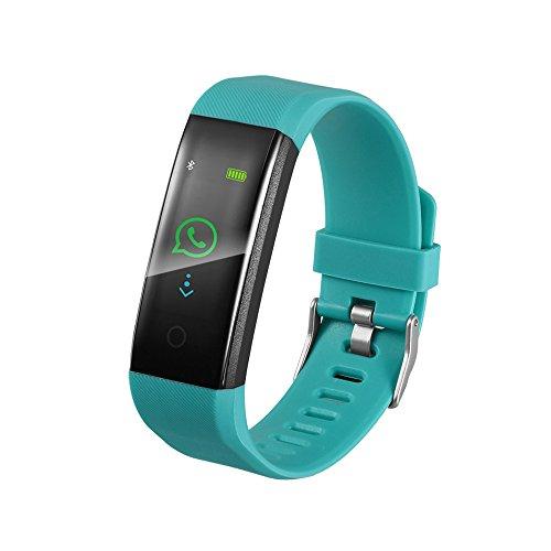 JiaMeng Smartwatches - Orologio astuto del braccialetto pedometro forma fisica di sport sonno banda...