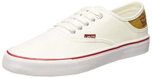 Levi's Men's Jordy Buck Sneakers Regular White Sneakers-11 UK/India (46 EU) (77127-3415)