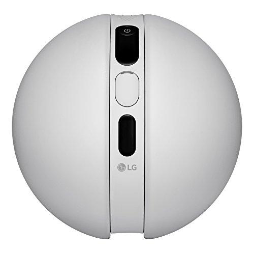 LG RB200.AEUATS Rolling Bot Drone per Videosorveglianza, Bianco