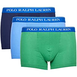 Polo Ralph Lauren Hombre Calzoncillos Paquete de 3 - Algodón, M (Medium)