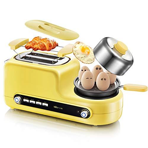 Tostapane,Tostapane In Acciaio Inox,Fornello Per Le Uova E Bracone, Macchina Per La Colazione 5 In...