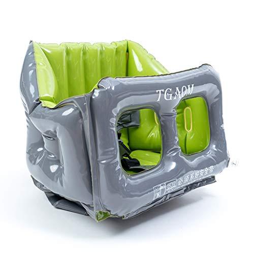 ZXWDIAN Seggiolone Sedile gonfiabile per bambini - con seggiolone multifunzione portatile pieghevole per bambini Easy Seggiolone