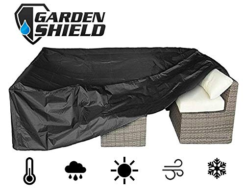 Garden Shield Copertura per Mobili Copertura Mobili 242 CM X 162 CM X 100 CM Impermeabile,...