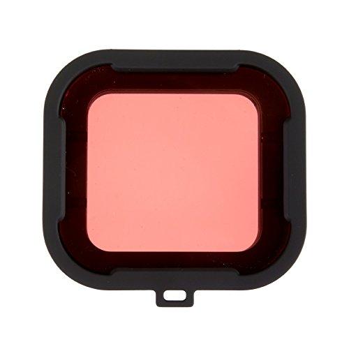 Polarpro Filtro Rosso per GoPro HERO 3+ / HERO 4 + Polarpro Rosso filtro aqua