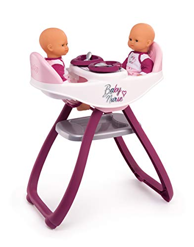 Smoby Baby Nurse 220344 - Seggiolone, Colore: Rosa