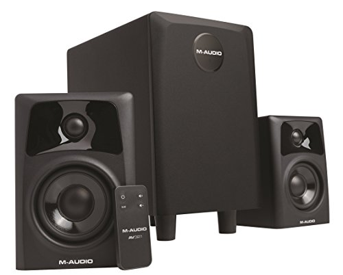 M-Audio AV32.1 - Pareja de altavoces monitores y subwoofer multimedia profesionales