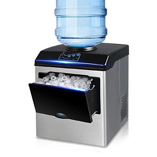 Macchina per la produzione di ghiaccio + distributore di acqua fredda - 25 kg di ghiaccio in 24 ore...