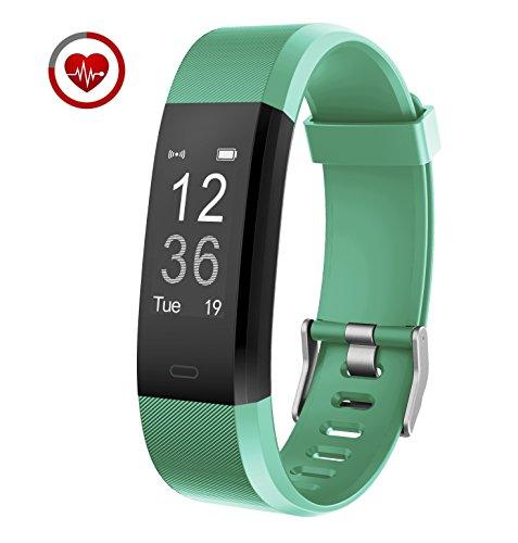 Vigorun Fitness Tracker YG3 Plus Orologio Fitness Monitoraggio della frequenza cardiaca Bluetooth...