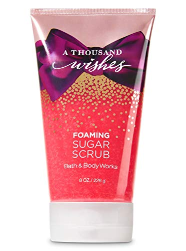 Bath & Body Works A Thousand Wishes Foaming Sugar Body Scrub, 226g