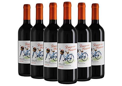 Collio DOC Pinot Nero box da 6 bottiglie Ronco del Frassino 2017 0,75 L