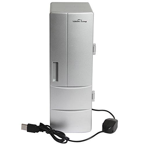 Sidiou Group USB Piccolo Frigorifero Medio frigo USB Mini frigo Bevande congelatore di...