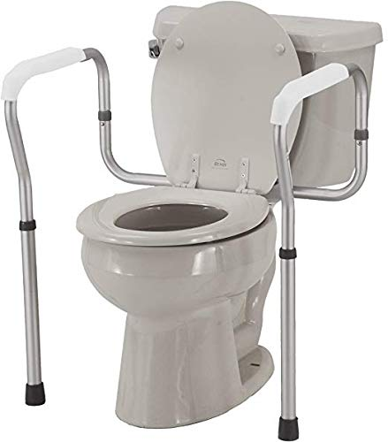 KosmoCare Aluminium Toilet Safety Frame -Height & Width Adjustable