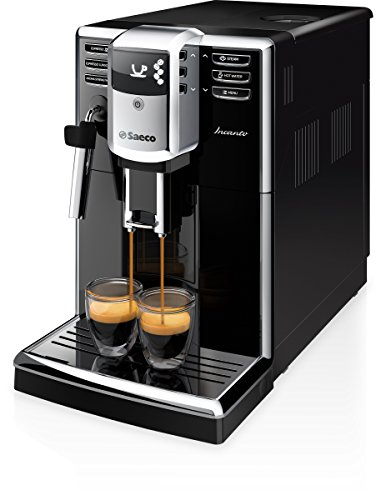 Saeco Incanto HD8911/02, Macchina da Caffè Automatica, con Macine in Ceramica, Filtro Aquaclean,...