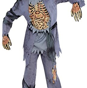 Amscan - 844189-55 - Traje de Halloween - Hombre - Zombie - Talla M/L