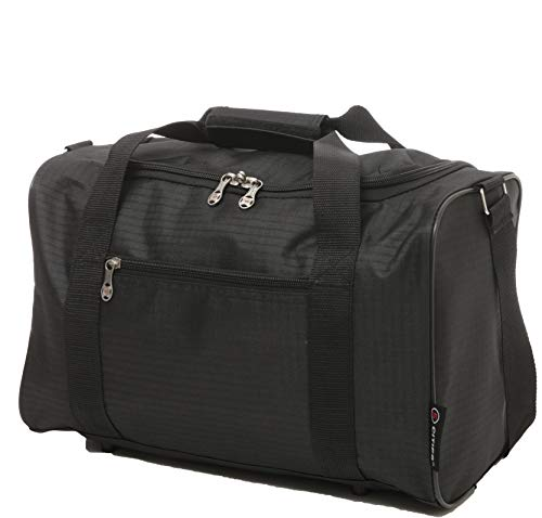 Ryanair 20L Dimensioni massime del bagaglio a mano da trasporto 40x25x20cm, nero