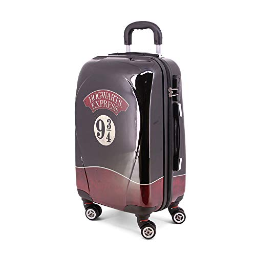 Karactermania Harry Potter Express-ABS Trolley-Koffer Trolley, 67 cm, 35.5 liters, Nero (Black)