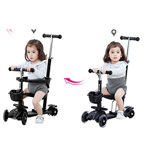 Monopattini Freestyle Scooter per Bambini Scooter Mamma può Spingere l'auto del Bambino Scooter per...