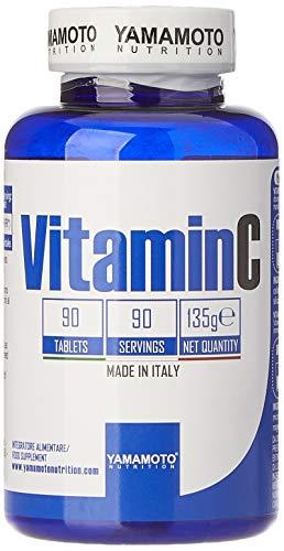 Yamamoto Nutrition Vitamin C 1000mg integratore di vitamina C alto dosaggio 90 compresse