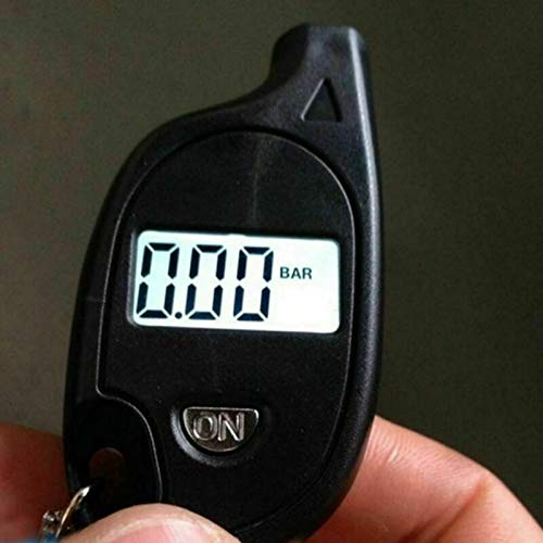 ELECTROPRIME Tire Air Pressure Guage Digital Car Truck LCD Meter Tester Tyre Gauge 3~150 Psi