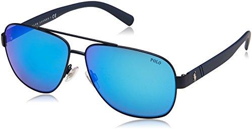 Polo-Ralph-Lauren-0PH3110-Gafas-de-Sol-para-Hombre-Matte-Navy-Blue-60