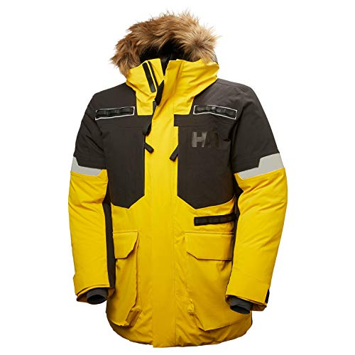 Helly Hansen Expedition Parka, Giacca Maternità Uomo, Giallo, X-Large