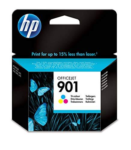 HP 901 Tricromia CC656AE Cartuccia Originale per Stampanti HP a Getto di Inchiostro, Compatibile con...