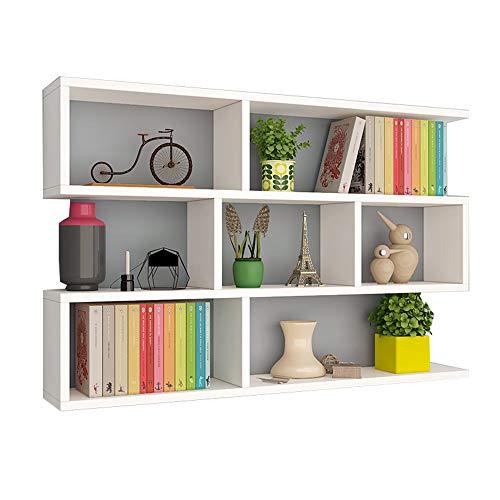 Bookshelf YNN Mensola a Muro Mensola a Muro Camera da Letto Parete divisoria Mobile pensile...