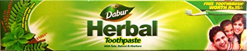 DABUR Herbal Toothpaste 100g - (Pack of 3)