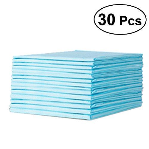 Ultnice 30Pcs Baby Underpads letto assorbente per protezione impermeabile traspirante Baby pannolini