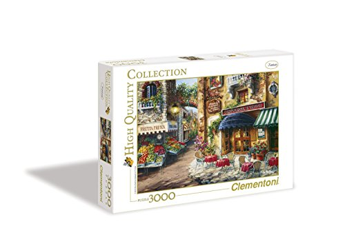 Clementoni - 33530 - High Quality Collection Puzzle - Buon Appetito - 3000 Pezzi
