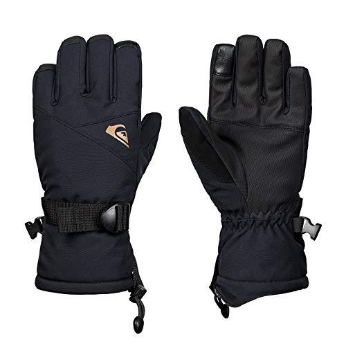 Quiksilver Mission Youth, Gloves Bambini e Ragazzi, Black, L