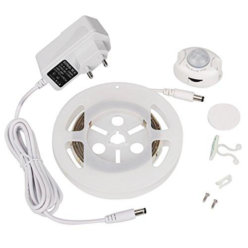 Luci di Striscia a LED LED Light Strip 36LED 2835SMD 3Watt di illuminazione a letto attivato Spina...