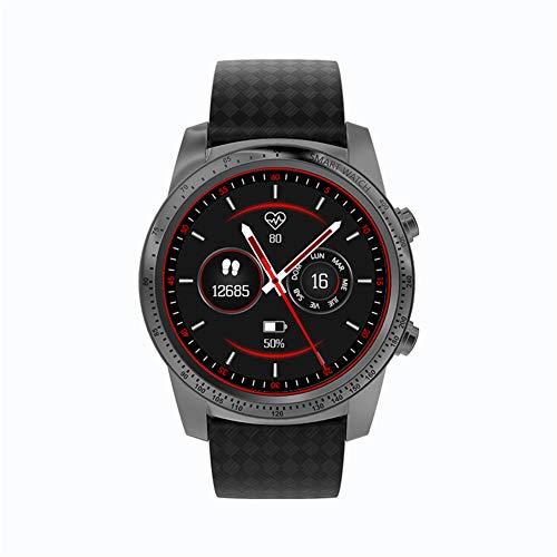 ZLOPV Pulsera Reloj Inteligente W1 Android 5.1 MTK6580 Samrtwatch Compatible con Tarjeta SIM Monitor de frecuencia cardíaca Reloj Deportivo para iOS Android Huawei PK KW88, Gris