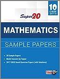 Super 20 Mathematics Sample Papers Class 10th CBSE 2017-18