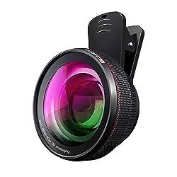 Kaufen BC Master Handy Objektiv Set, Clip-on Kamera Adapter, 0.45x Super Weitwinkelobjektiv, 15x Makro Objektiv, Ojektivdeckel, Objektivtaschen für Smartphone iPhone Samsung