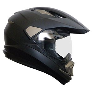 Crosshelm Motocross Enduro Downhill Helm Motorradhelm Integralhelm RALLOX XP14A schwarz matt S M L XL XXL 1
