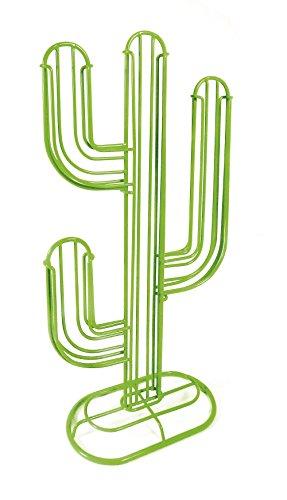 Pusher Cactus Porta Capsule caffè, Verde