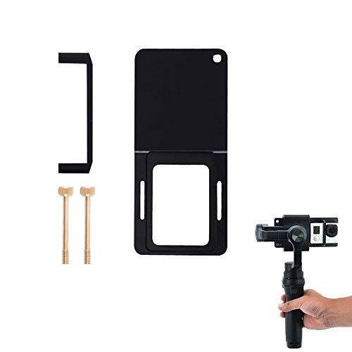 iMusk Adattatore per Piastra di Montaggio per Fotocamera Compatibile con Gopro 5 4 3 3+ Xiao Yi SJ4000 per DJI OSMO Mobile Zhiyun Palmare Stabilizzatori per Fotocamera Gimbal Accessori